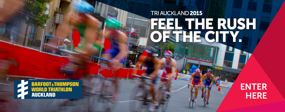 World Triathlon Auckland Registration banner image
